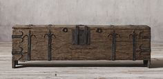 16Th C. Spanish Trunk Collection | Restoration Hardware