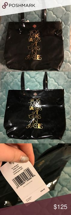 """Kate Spade """"Required Reading"""" Bag NWT. I purchased at TJ Maxx for $149.99. Aunthentic. Never used, I couldn't bring myself to carry it because I'm hard on my purses 😢 It's time to part with it, it's just been collecting dust! Make an offer! Bundles also get 25% off! kate spade Bags Totes"""