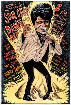James Brown Boogies for the Soul Clap & Dance Off