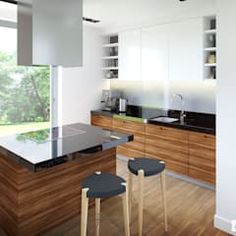 Projekt domu olaf g2 energo plus nowoczesna kuchnia od pracownia projektowa archipelag nowoczesny   homify Table, Furniture, Olaf, Design, Home Decor, Innovative Ideas, Townhouse, Small Kitchens, Houses
