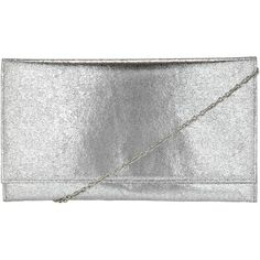 John Lewis Crackle Metallic Clutch , Silver (55 AUD) ❤ liked on Polyvore featuring bags, handbags, clutches, silver, silver evening handbag, silver metallic purse, evening purse, special occasion handbags e evening clutches