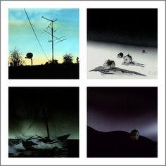Rutheart: Norwegian landscape watercolour paintings