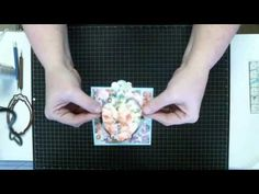 LIVE Easel Challenge Card Made Using Dies - YouTube