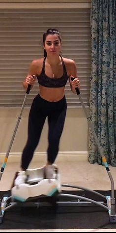 Gym Workout For Beginners, Fitness Workout For Women, Workout Videos, Yoga Fitness, Fitness Tips, Fitness Motivation, Health Fitness, Skiing Workout, Workout Machines