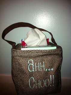 Super cute Thirty One Littles Carry All kleenex holder!  Put sanitizer in the pocket  great teacher gift!!! Www.mythirtyone.com/ToniCramer