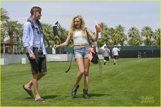 Peyton and Spencer List in Coachella Music Fest April 10,2015
