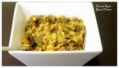 Green onions with Gram Flour