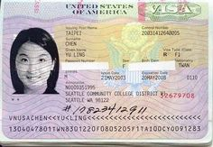 Border Crossing Card Taken From Uscis Gov Immigration Document Samples Pinterest Green