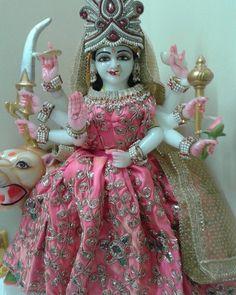 Image may contain: 1 person Maa Durga Photo, Maa Durga Image, Indian Goddess, Goddess Lakshmi, Navratri Devi Images, Durga Ji, Vaishno Devi, Durga Images, Krishna Images