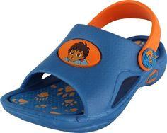 Nickelodeon Go Diego Go! Blue/Orange Toddler Sandals 5/6-9/10 Nickelodeon Go Diego Go!. $12.99