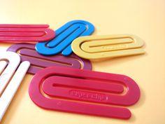 80s jumbo paperclip