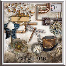 Vol. 916 - Steampunk Mix by Doudou's Design  cudigitals.com cu commercial scrap scrapbook digital graphics#digitalscrapbooking #photoshop #digiscrap