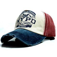 wholsale brand cap baseball cap fitted hat Casual cap gorras 5 panel hip  hop snapback hats wash cap for men women unisex 76356a6f05d2