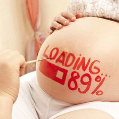 "A good option for those tiring of the question: ""How many weeks do you have left?"" #babybump #costumes"