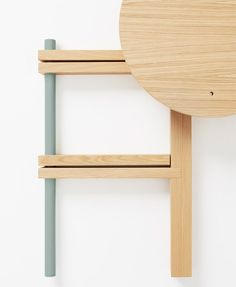 COS, Hay and Tomas Alonso team up to launch folding wooden tables wood stove wooden chairs wooden doors wooden step stool wooden table Tiny House Furniture, Small Bedroom Furniture, Ikea Furniture, Furniture Design, Nomadic Furniture, Fold Down Table, Wooden Tables, Wooden Chairs, Cool Chairs