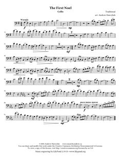 The First Noel (by Andrew Hawryluk -- Piano Duet/Piano Ensemble) Cello Sheet Music, Music Pictures, Recital, The One, Piano, Entertainment, Songs, Christmas, Sheet Music