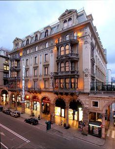 ~Hotel Bristol Palace, Genova, Liguria - Italy (by HotelBristolPalaceGenova)~ Genoa Italy, Italy Italy, Hotel Bristol, Find Cheap Hotels, Old Port, Palace Hotel, Southern Europe, Beautiful Hotels, Viajes