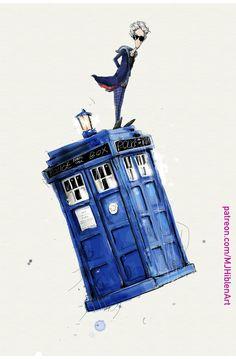 Fantasy Illustration, Doctor Who, Pop Culture, Facebook, Style, Swag