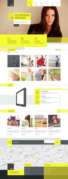 Amilia – Multipurpose One & Multi Page WP Theme