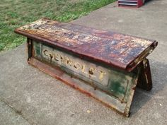 Pickup Truck Tailgate Bench recycl, truck tailgate bench, pickup trucks, stuff, tailgate benches, tailgat bench, repurpos, junk, truck bench
