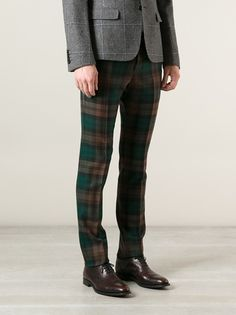 GUCCI - checked trouser 8