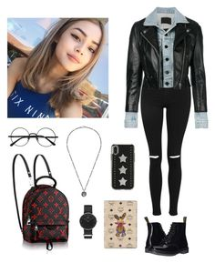 """Sunday 180318, Otw Los Angeles for Shooting MV (Debut Japan) w/Snowflake"" by yasminassegaf195 ❤ liked on Polyvore featuring Topshop, Alexander Wang, Dr. Martens, Gucci, Rebecca Minkoff, MCM and Daniel Wellington"