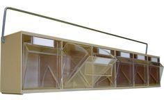 Storage Design Limited - Storage Containers & Bins - Small Parts Storage - Tiltbin Storage - Retaining Bars for Tilt Bins