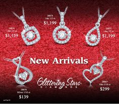 Glittering Stars #diamonds shines and #shimmers with every movement along as you wear them. Check out our #new #arrivals from #Glittering #Stars #Collection….