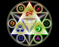 The most epic picture of the Triforce I have ever seen!