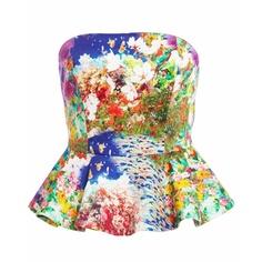 Bardot Multi Floral Corset