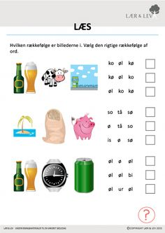 Læsning 0.1 Cooperative Learning, Sprog, Teacher, Education, Reading, Tips, Danish Language, Grammar, First Class