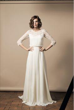 Hochzeitskleid von Delphine Manivet loooove it!