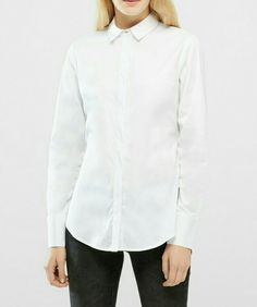 Philosophy Blues Original White fitted shirt