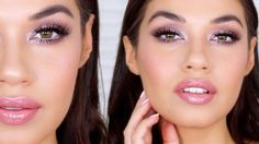 Valentines Day Makeup ft. Maybelline The Blushed Nudes Eyeshadow Palette