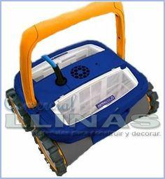 Limpiafondos automático 4 x 4, para piscina standard.¡¡ Juego de gomas (ruedas) de regalo !! https://tienda.comerciallinas.com/epages/eb3258.sf/seccc95595ba1/?ObjectPath=/Shops/eb3258/Products/AST54439B17