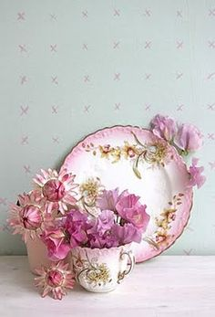 Flower inspired china