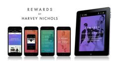 Harvey Nichols shuns traditional loyalty scheme with 'agile, personalised' mobile app – Marketing Week App Marketing, Mobile App Design, Harvey Nichols, Ecommerce, Digital, Cards, Advertising, E Commerce