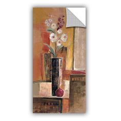 Pomeand Orchid Wall Mural