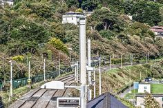Killiney - County Dublin (Ireland). Rail lines.
