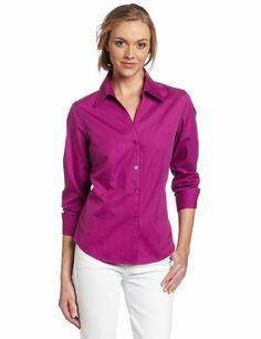 Jones New York Women's Sherpa Blouse, Hibiscus, « ShirtAdd.com – Perfect Fit Shirts