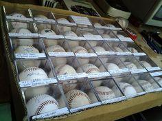 #2543 Baseballs, Autographed, Boxed, $465.00 Set of 31 Baseballs, Autographed, Boxed