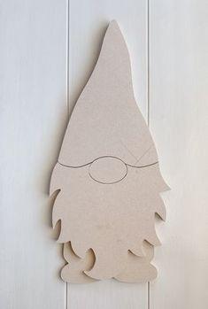 Noël à la maison de fous boules x6-Bois découpé au laser Craft Formes