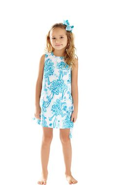947bb630bbe3 Girls Little Lilly Classic Shift Dress - Lilly Pulitzer Kids Prints