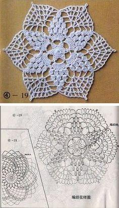 Tapete o carpeta en tejido crochet