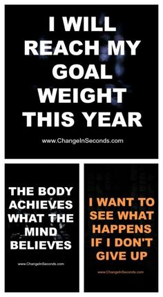 Weight Loss Motivation I already have this year. Now I gotta work on next years goal!!! I will make it! Mind over matter