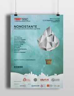 Artwork by Laura Belotti and Fabio Galessi for TEDx SSC 2015. Nonostante, idee scelte e percorsi che superano ogni limite. Special Thanks to Roberta Sinatra and Emmanuele Pecora for this great opportunity!