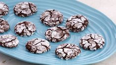 Bake With Anna Olson TV Show recipes on Food Network Canada; your exclusive source for the latest Bake With Anna Olson recipes and cooking guides. Flourless Chocolate Cookies, Chocolate Crinkle Cookies, Chocolate Crinkles, Chocolate Frosting, Chocolate Chips, Classic Christmas Cookie Recipe, Best Holiday Cookies, Christmas Cookies, Popular Cookie Recipe