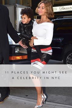 11 Places You Might See a Celebrity in NYC via @PureWow