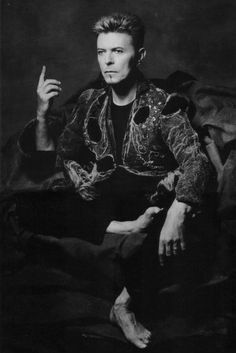 David Bowie photographed by Albert Watson. °