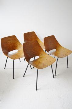 Pierre Guariche Tonneau chairs Steiner, midcentury, modernist, retro